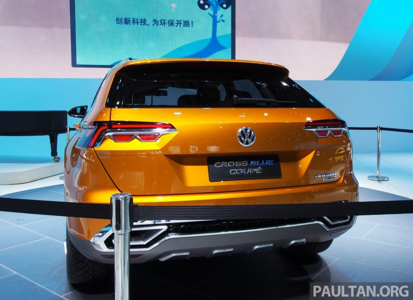 Shanghai 2013 Live: Volkswagen CrossBlue Coupe Image #170051