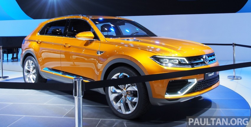 Shanghai 2013 Live: Volkswagen CrossBlue Coupe Image #170039