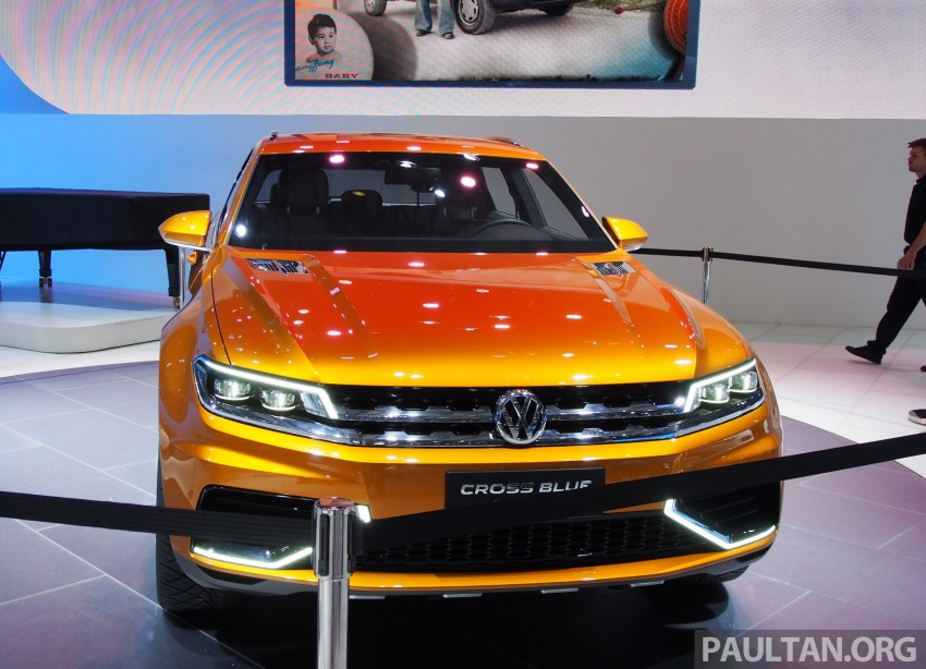 Shanghai 2013 Live: Volkswagen CrossBlue Coupe Image #170042