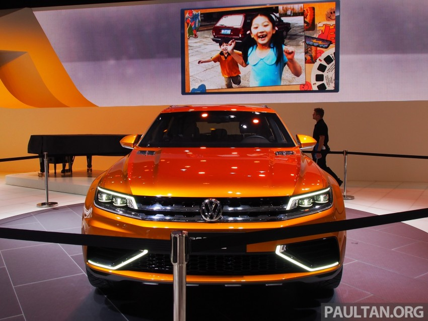 Shanghai 2013 Live: Volkswagen CrossBlue Coupe Image #170043