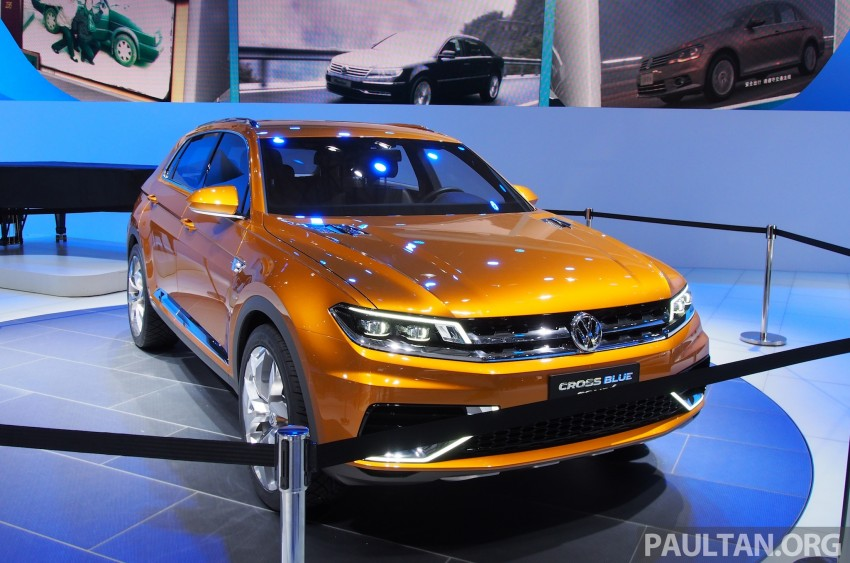 Shanghai 2013 Live: Volkswagen CrossBlue Coupe Image #170044