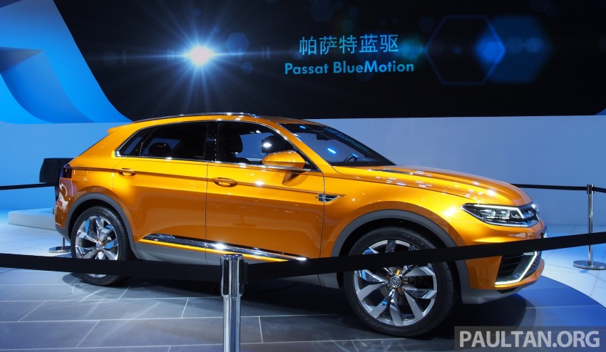 Shanghai 2013 Live: Volkswagen CrossBlue Coupe Image #170045