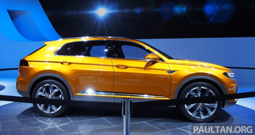 Shanghai 2013 Live: Volkswagen CrossBlue Coupe Image #170046