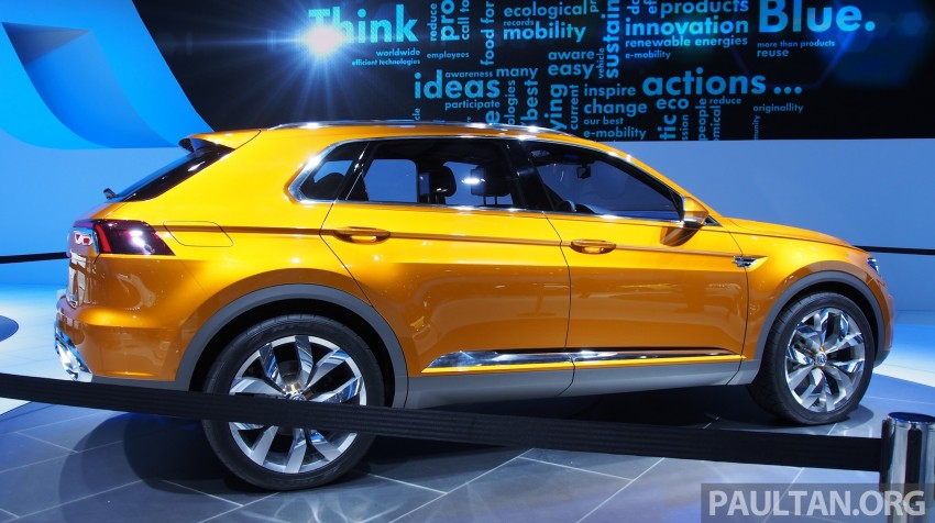 Shanghai 2013 Live: Volkswagen CrossBlue Coupe Image #170048