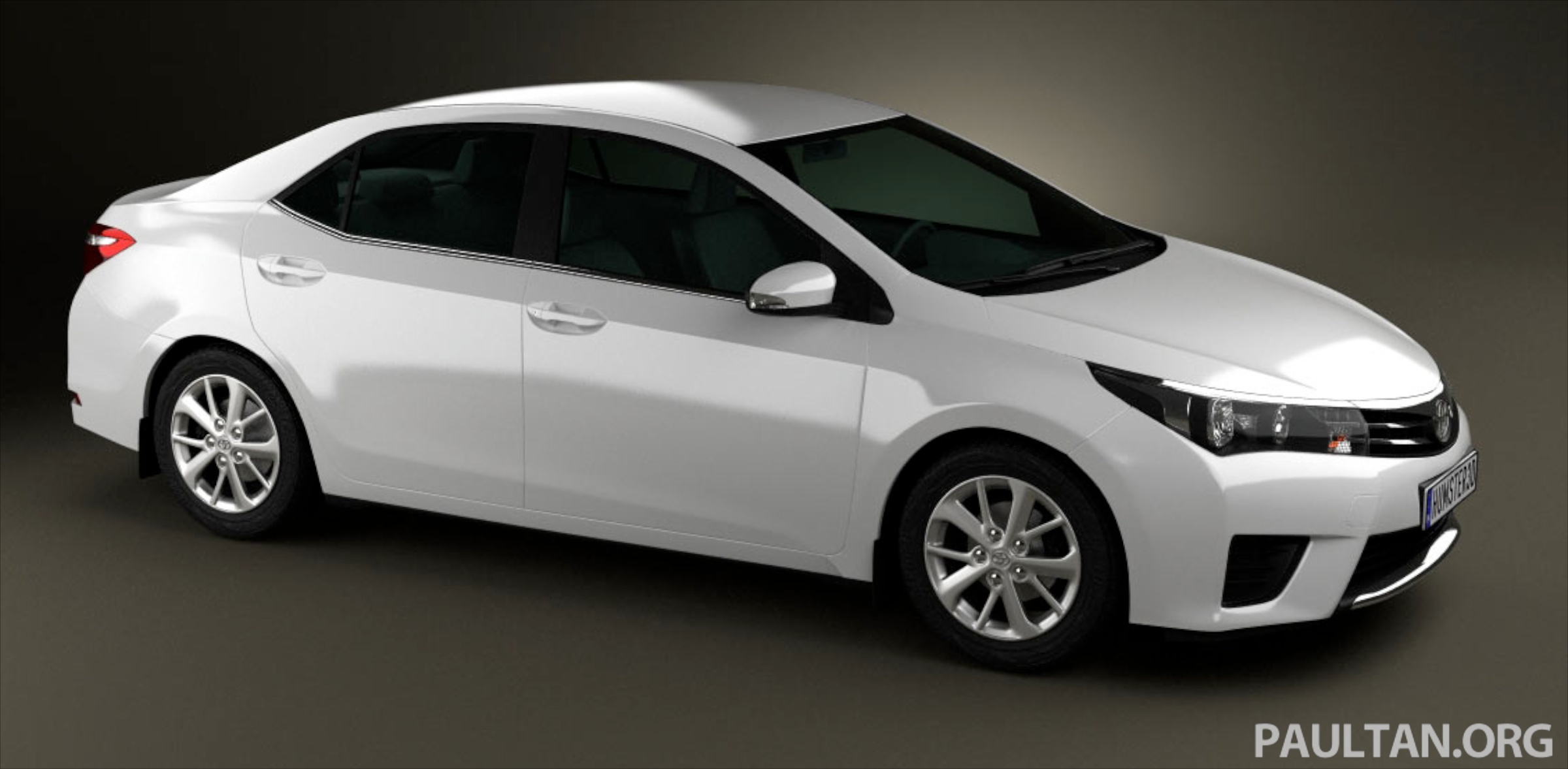 See the next gen toyota corolla altis from all angles image 177051