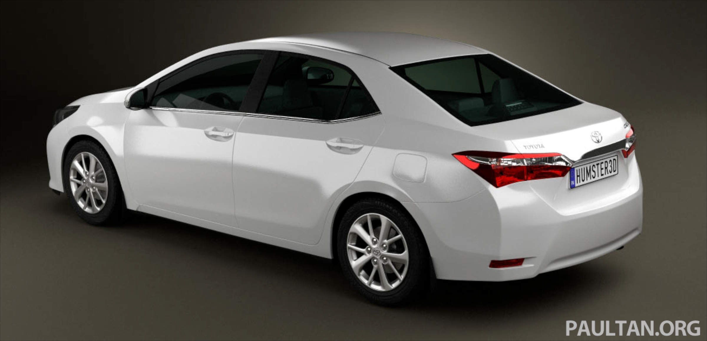 See the next gen toyota corolla altis from all angles image 177059