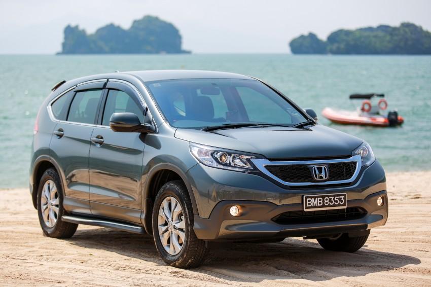 DRIVEN: Fourth-gen Honda CR-V 2.0 in Langkawi Image #175408