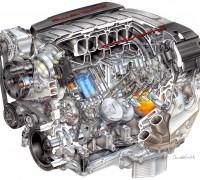 2014 6.2L V8 VVT DI LT1 Corvette