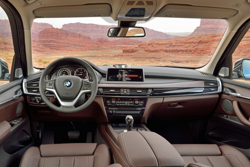 2014 Bmw X5 Third Generation F15 Breaks Cover Image 177236