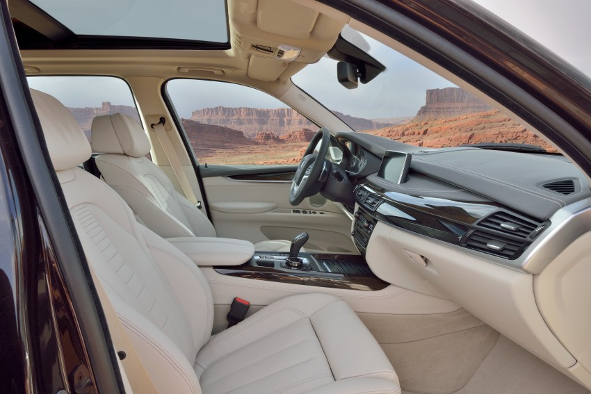 2014 BMW X5 Third Generation F15 Breaks Cover Image 177198