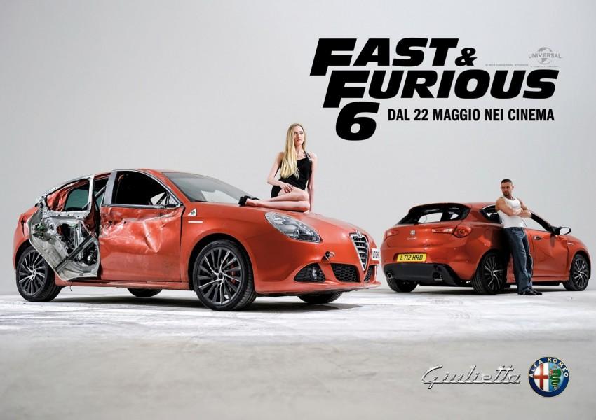 Alfa Romeo Giulietta to catch some air time in F&F 6 Image #172935