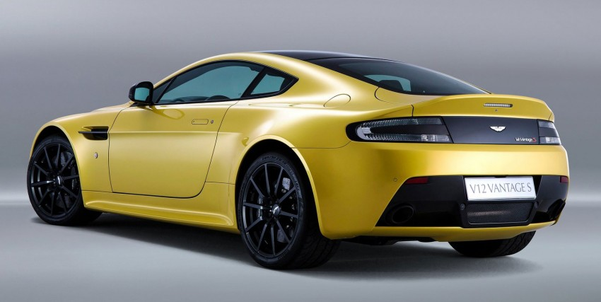 Aston Martin V12 Vantage S – fastest production AM Image #176848