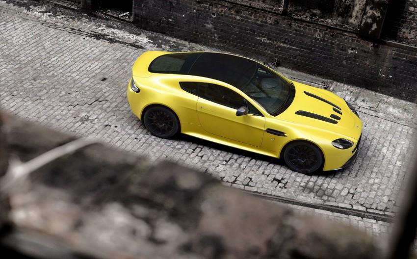 Aston Martin V12 Vantage S – fastest production AM Image #176857