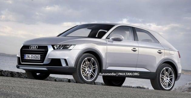 Audi A6 speculative rendering