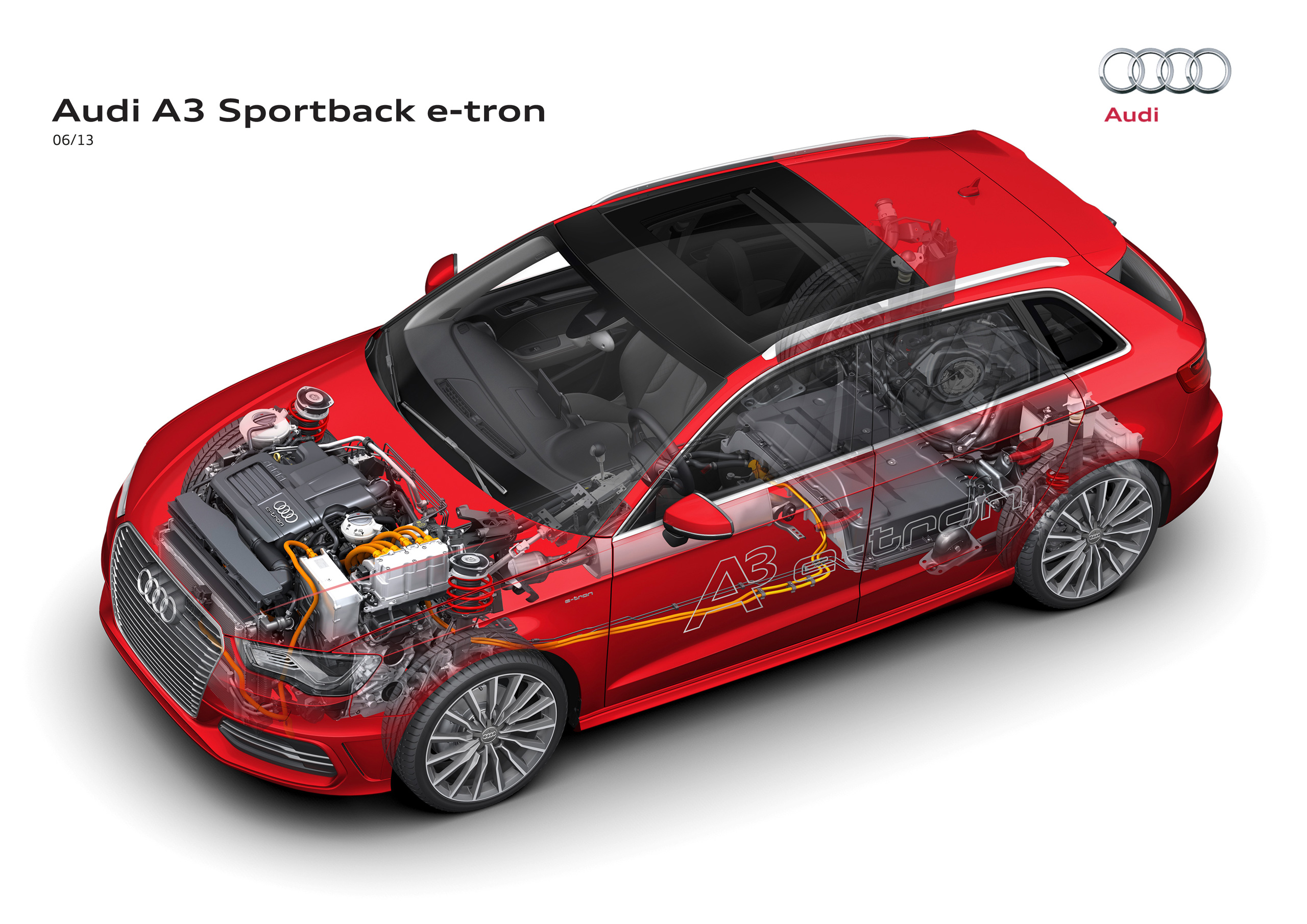 audi a3 sportback e tron enters production late 2013. Black Bedroom Furniture Sets. Home Design Ideas