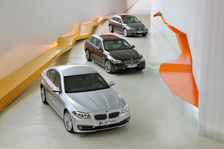 BMW 5 Series LCI – Sedan, Touring and Gran Turismo Image #175175