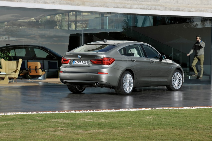 BMW 5 Series LCI – Sedan, Touring and Gran Turismo Image #175227