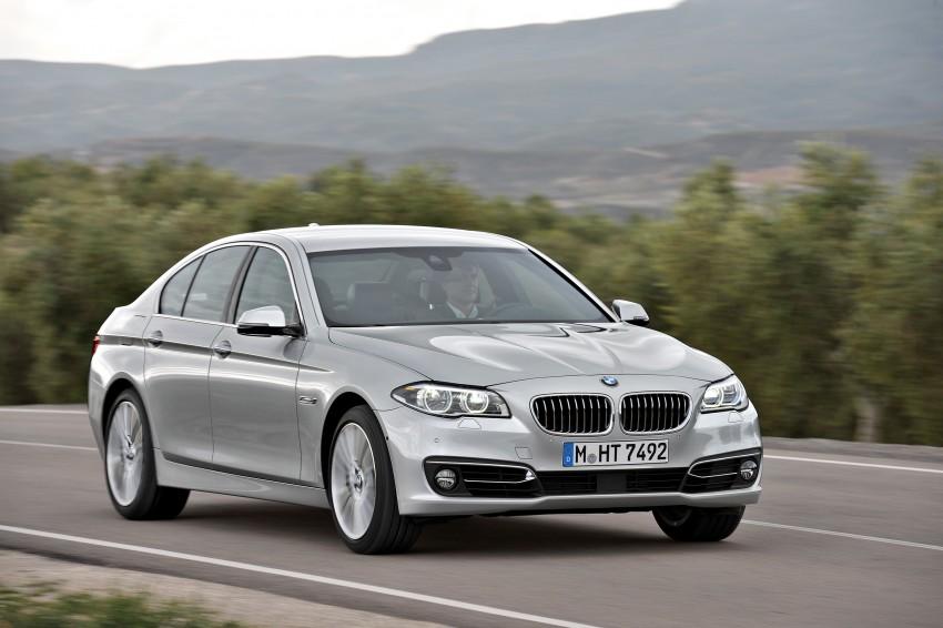 BMW 5 Series LCI – Sedan, Touring and Gran Turismo Image #175284