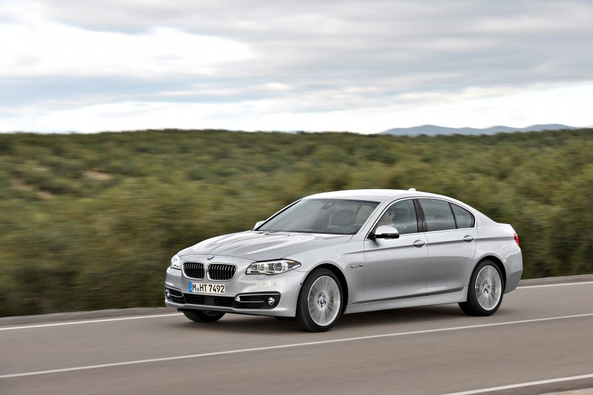 BMW 5 Series LCI – Sedan, Touring and Gran Turismo Image #175285