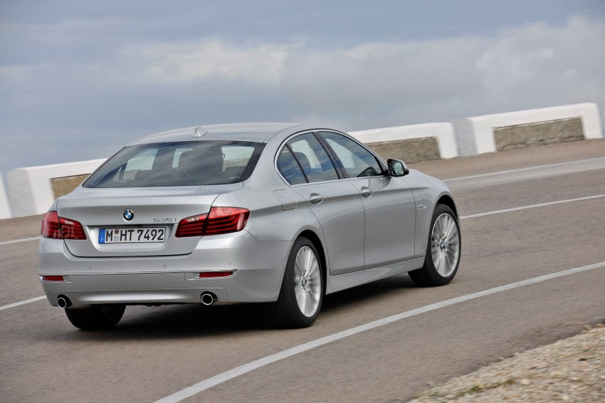 BMW 5 Series LCI – Sedan, Touring and Gran Turismo Image #175289