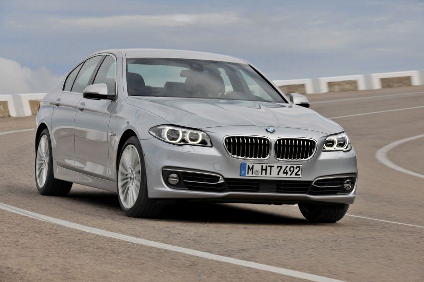 BMW 5 Series LCI – Sedan, Touring and Gran Turismo Image #175290