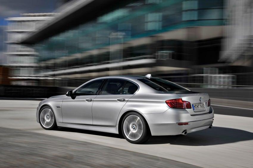 BMW 5 Series LCI – Sedan, Touring and Gran Turismo Image #175293