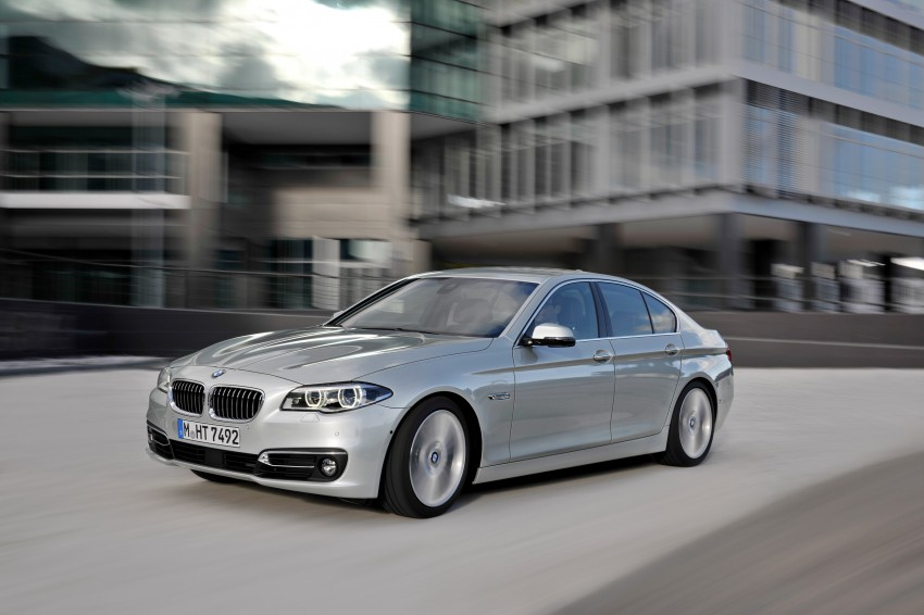 BMW 5 Series LCI – Sedan, Touring and Gran Turismo Image #175295