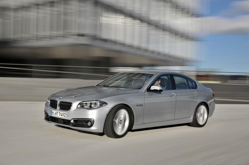 BMW 5 Series LCI – Sedan, Touring and Gran Turismo Image #175297
