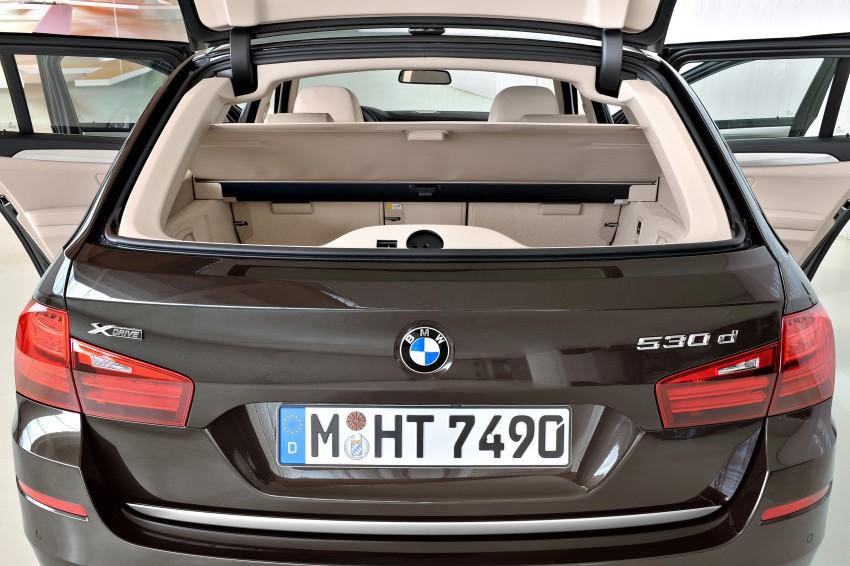 BMW 5 Series LCI – Sedan, Touring and Gran Turismo Image #175350