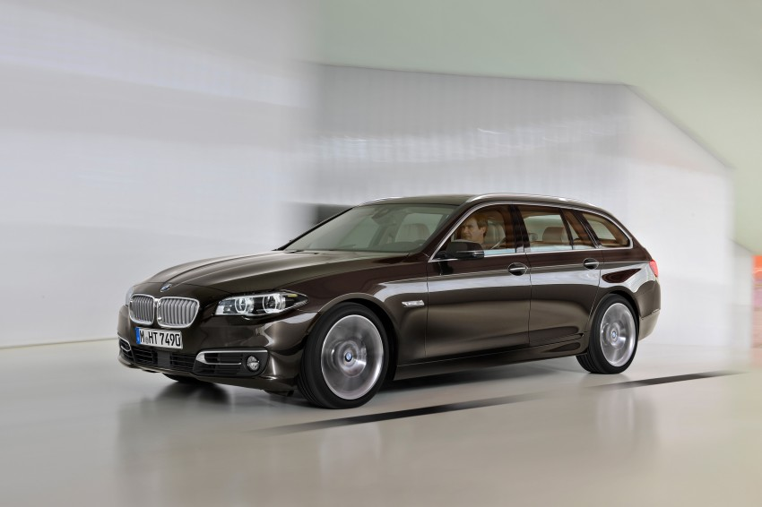 BMW 5 Series LCI – Sedan, Touring and Gran Turismo Image #175352