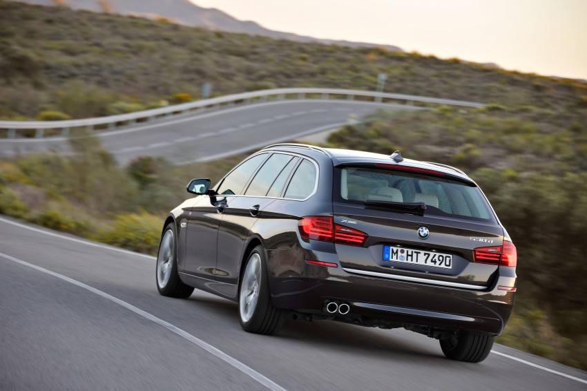 BMW 5 Series LCI – Sedan, Touring and Gran Turismo Image #175356