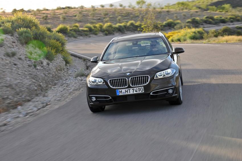 BMW 5 Series LCI – Sedan, Touring and Gran Turismo Image #175360