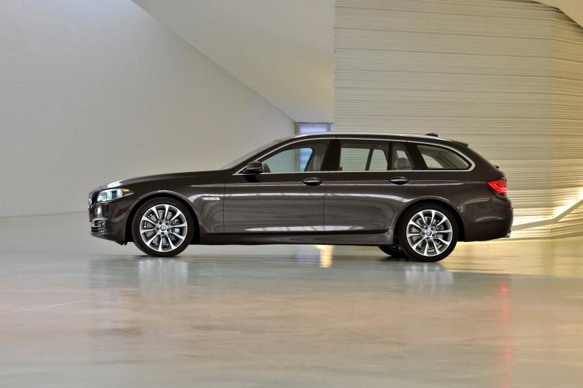 BMW 5 Series LCI – Sedan, Touring and Gran Turismo Image #175368