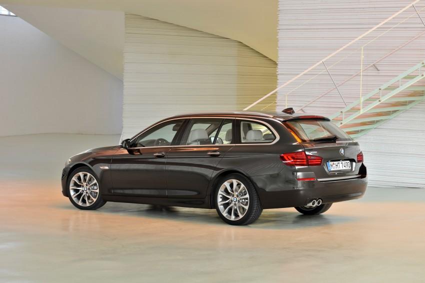 BMW 5 Series LCI – Sedan, Touring and Gran Turismo Image #175369