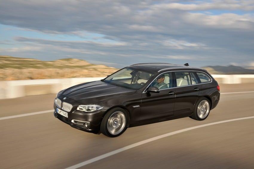 BMW 5 Series LCI – Sedan, Touring and Gran Turismo Image #175370