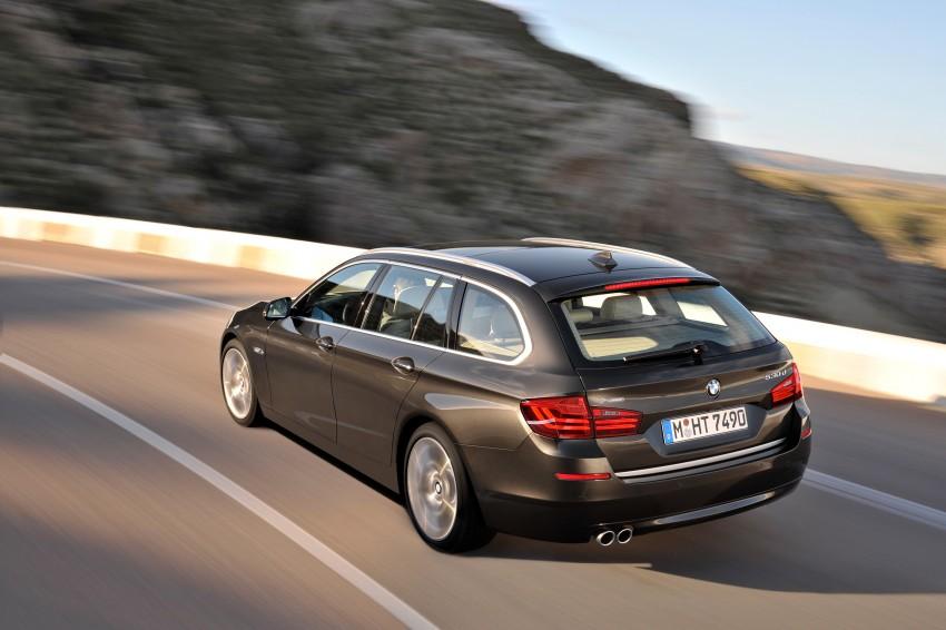 BMW 5 Series LCI – Sedan, Touring and Gran Turismo Image #175372