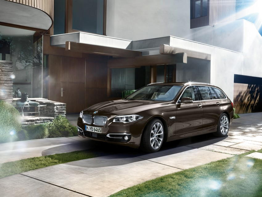 BMW 5 Series LCI – Sedan, Touring and Gran Turismo Image #175375