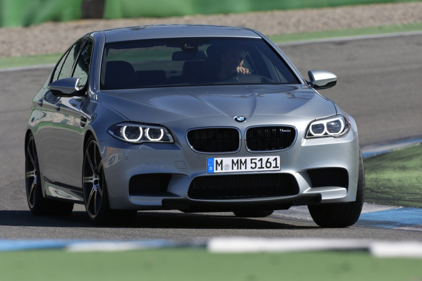 F10 BMW M5 LCI gets a new Competition Package – 575 hp power boost also available on M6 variants Image #175569