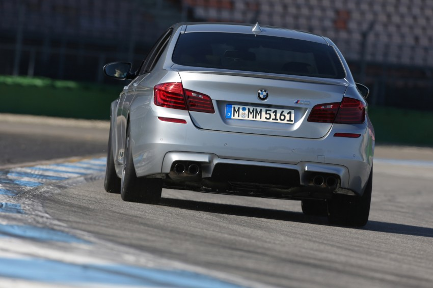 F10 BMW M5 LCI gets a new Competition Package – 575 hp power boost also available on M6 variants Image #175571