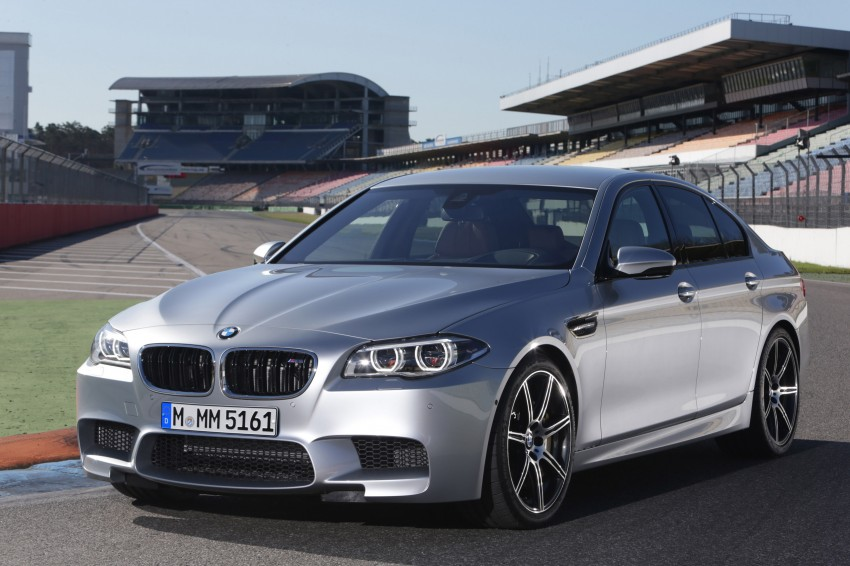 F10 BMW M5 LCI gets a new Competition Package – 575 hp power boost also available on M6 variants Image #175574