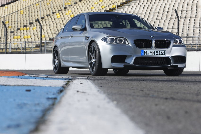 F10 BMW M5 LCI gets a new Competition Package – 575 hp power boost also available on M6 variants Image #175576