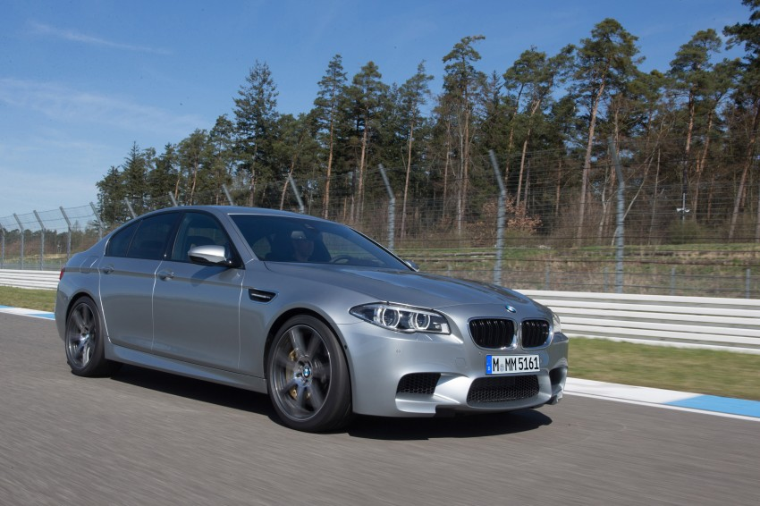 F10 BMW M5 LCI gets a new Competition Package – 575 hp power boost also available on M6 variants Image #175581