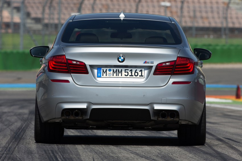 F10 BMW M5 LCI gets a new Competition Package – 575 hp power boost also available on M6 variants Image #175584