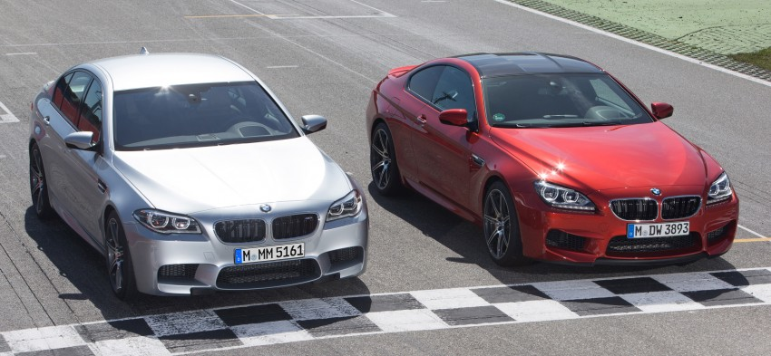 F10 BMW M5 LCI gets a new Competition Package – 575 hp power boost also available on M6 variants Image #175586