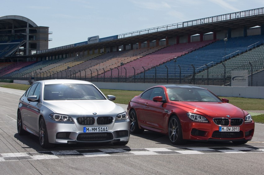 F10 BMW M5 LCI gets a new Competition Package – 575 hp power boost also available on M6 variants Image #175588