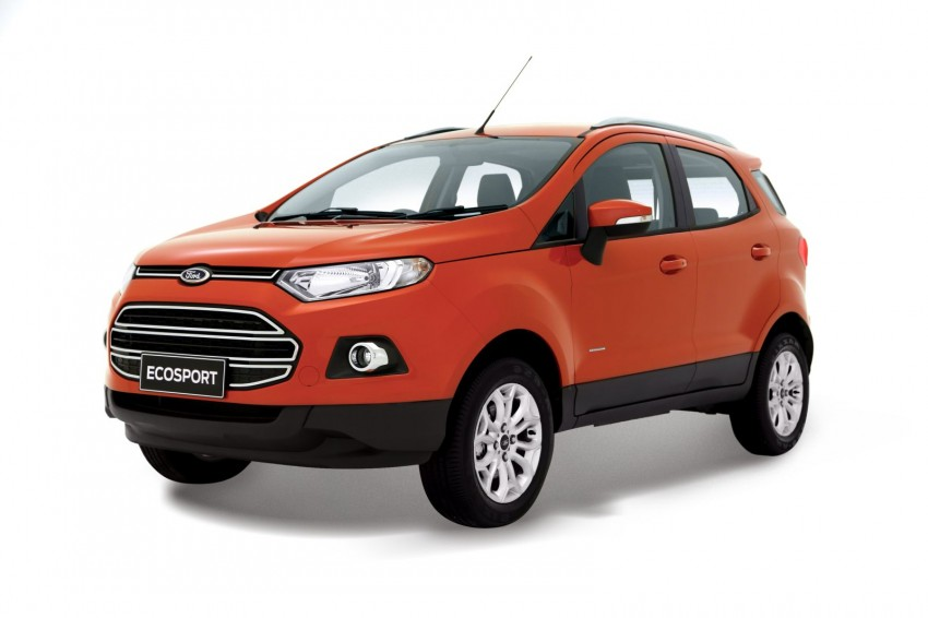 Ford EcoSport 1.0L EcoBoost: first impressions Image #173956