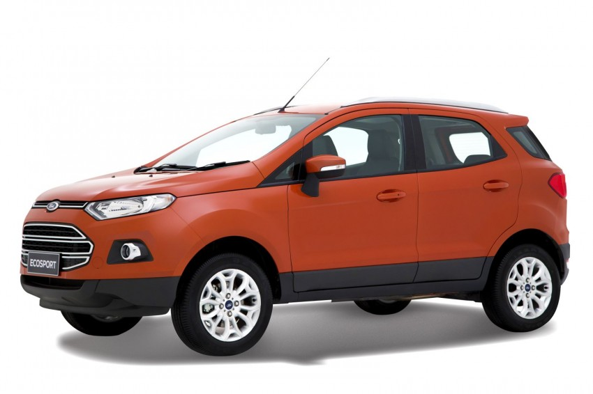 Ford EcoSport 1.0L EcoBoost: first impressions Image #173957