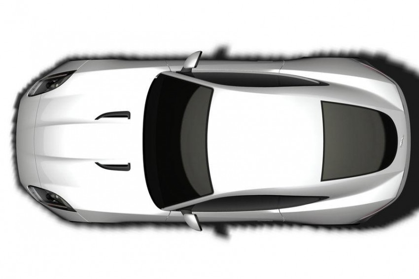 Jaguar F-Type Coupe in the works – patent filing done Image #172669