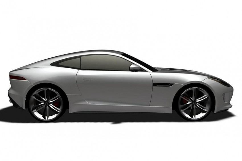 Jaguar F-Type Coupe in the works – patent filing done Image #172665