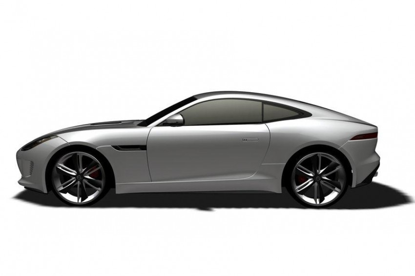 Jaguar F-Type Coupe in the works – patent filing done Image #172670